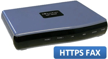 HTTPS Enabled AudioCodes MP-202B Fax