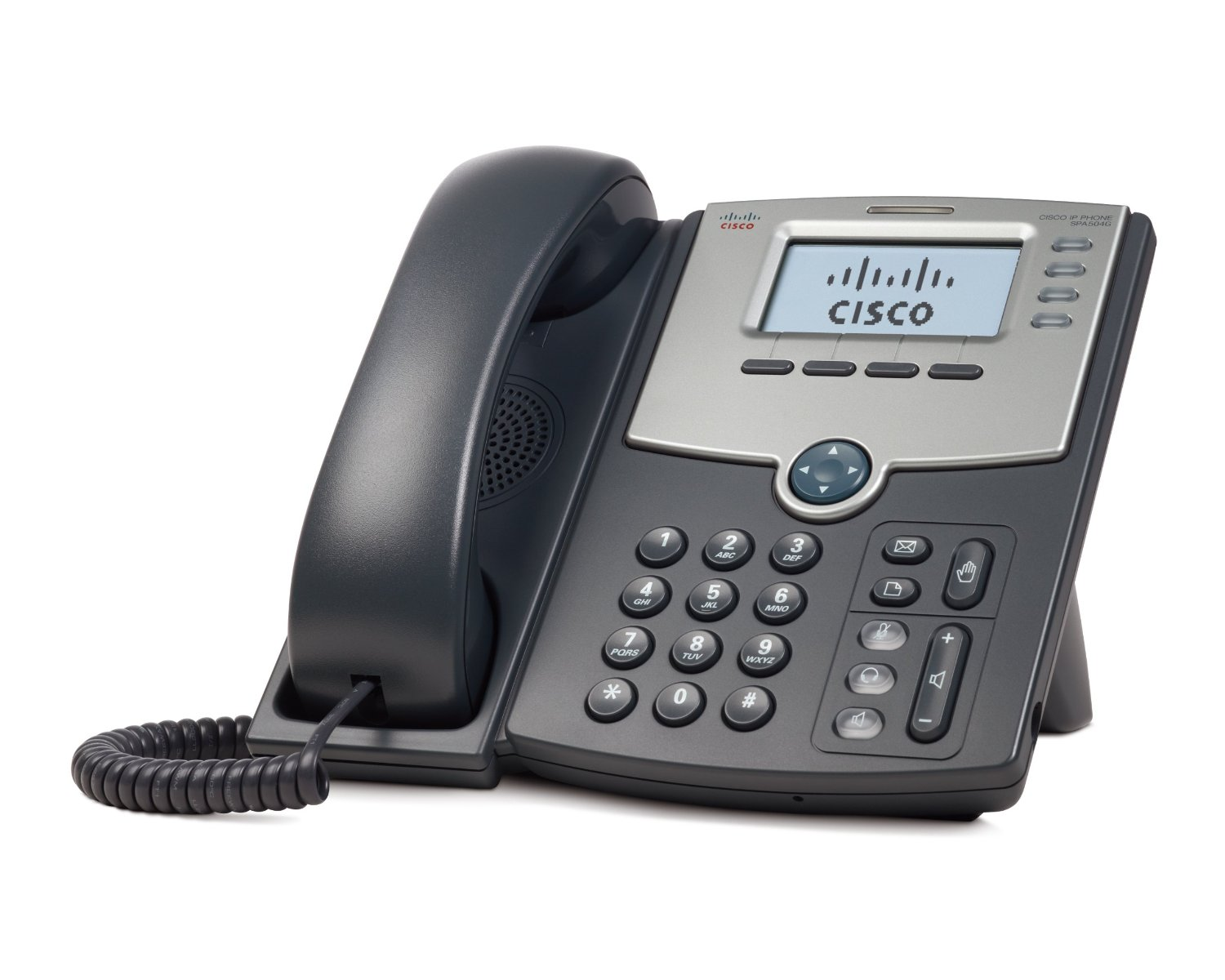 Cisco SPA504G 4 Line VoIP Phone with PoE